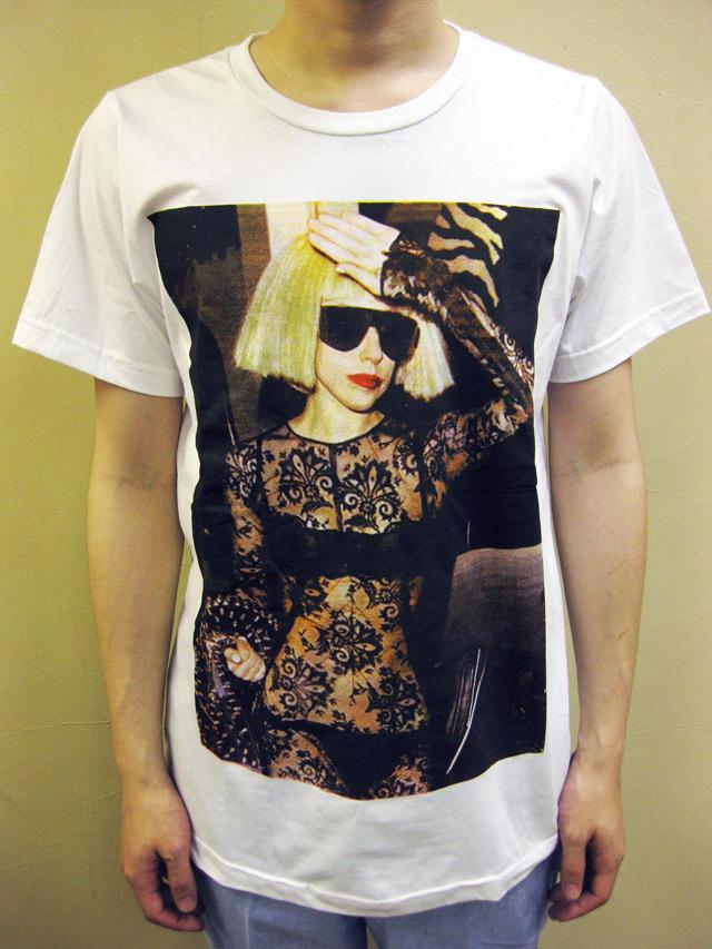 "SMOCK ""LADY GAGA""Tシャツ"