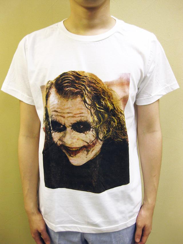 "SMOCK ""DARK NIGHT/Heath Ledger""Tシャツ"