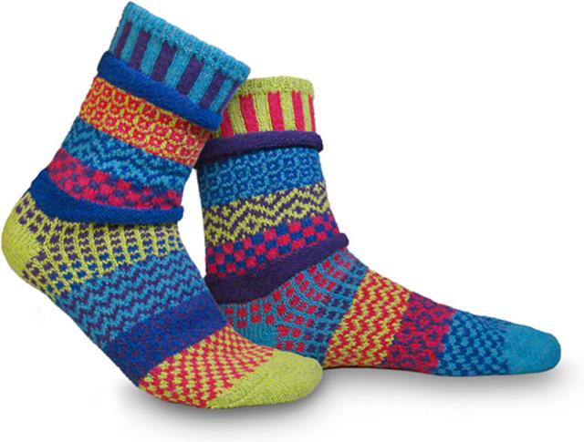 """Solmate Socks """"Bluebell""""ソックス"""
