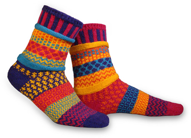 """Solmate Socks""""Carnation""""ソックス"""
