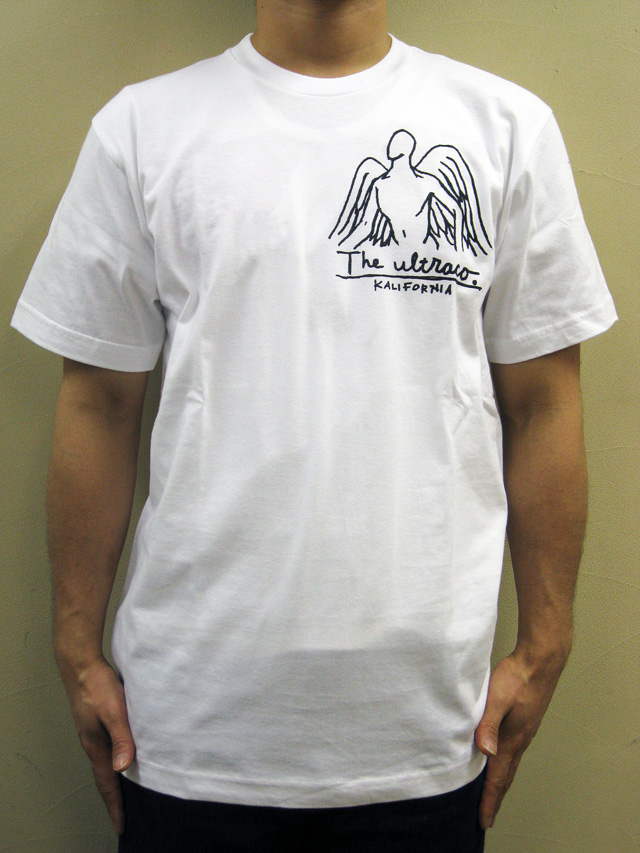 """THE ULTRACO.  """"ANGEL NAME""""Tシャツ"""