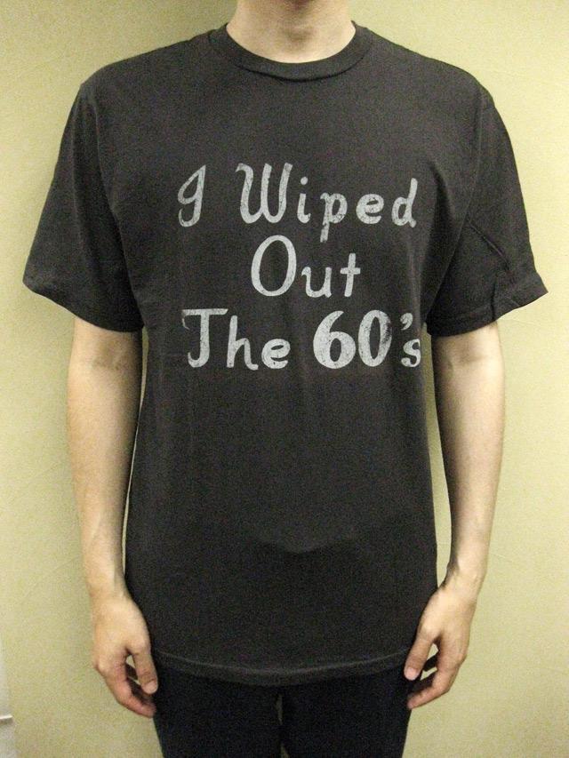 "WORNFREE  ""Wiped Out""Tシャツ"