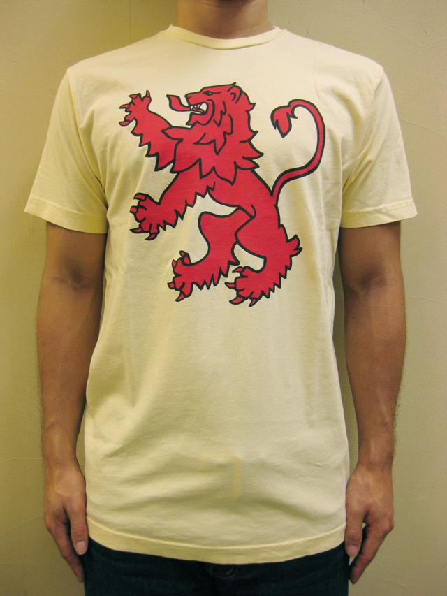 """WORNFREE  """"スコティッシュライオン""""Tシャツ"""