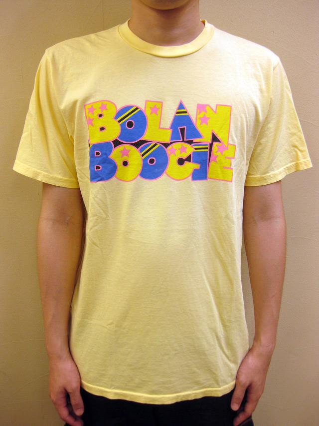 """WORNFREE  """" BOLAN BOOGIE""""Tシャツ"""