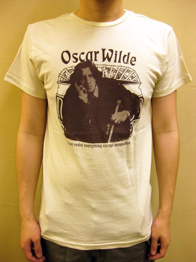 """WORNFREE  """"Oscar Wilde""""Tシャツ"""