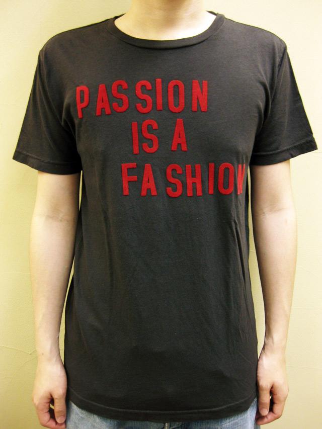 "WORNFREE  ""PASSION IS A FASHION""Tシャツ"