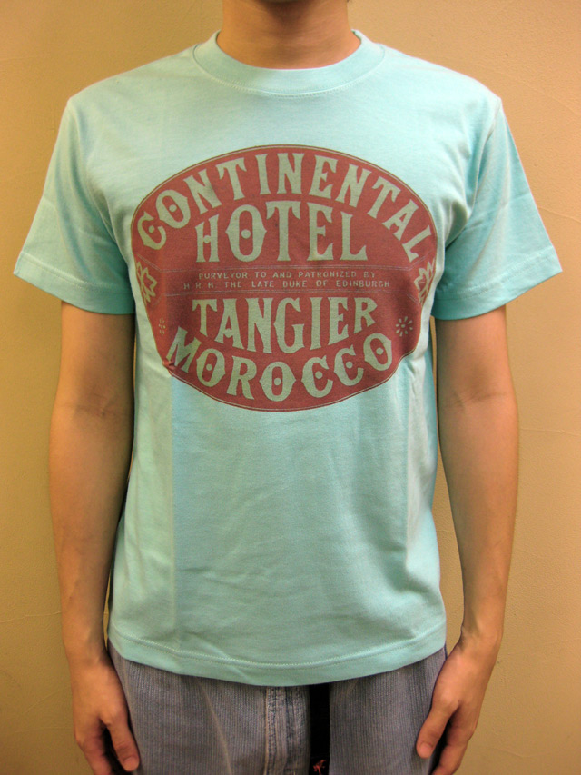 "WTB クラッシックホテル S/S T ""CONTINENTAL HOTEL TANGIER""(Blood & Thunder別注)"