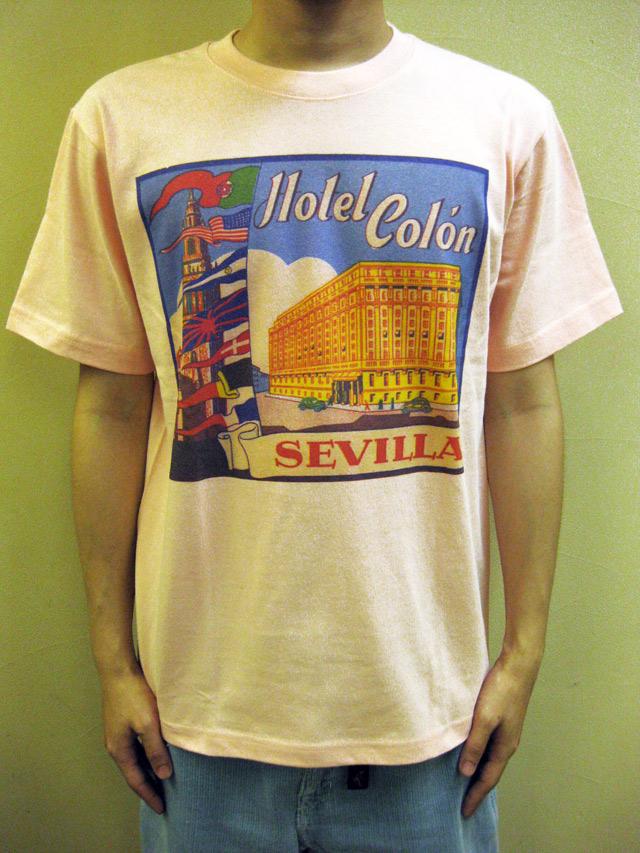 """WTB クラッシックホテル S/S T """"Hotel Colon SEVILLA""""(Blood & Thunder別注)"""