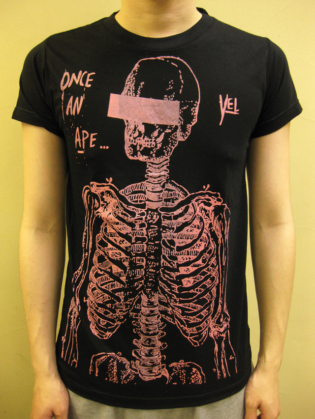 "Your Eyes Lie ""ONCE AN APE"" Tシャツ"
