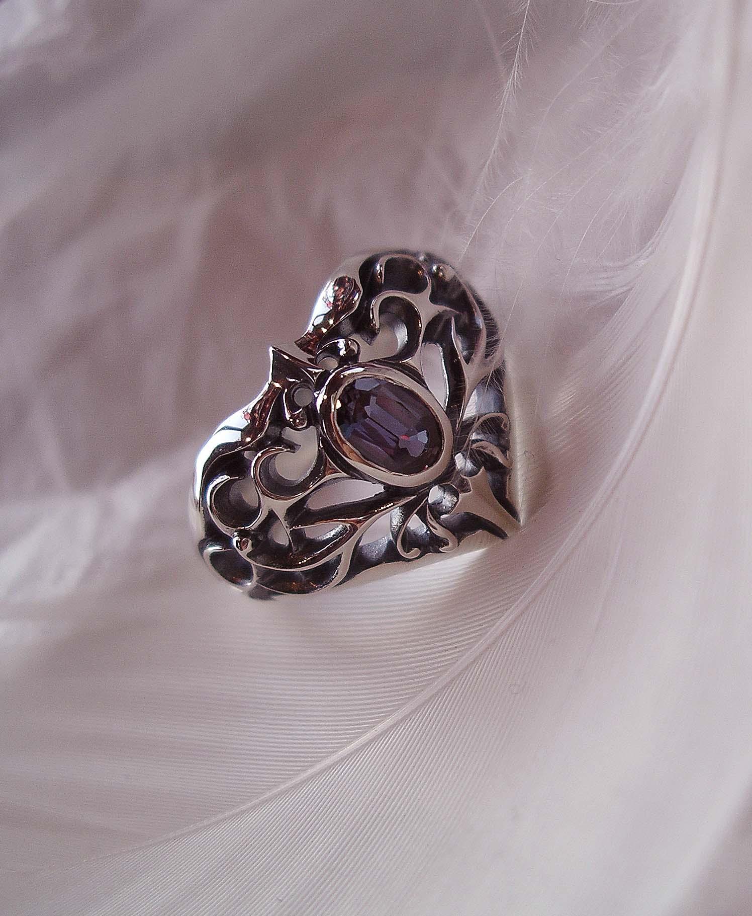 Bloody Rose オリジナルリング✙ソーサラーリング sorcerer's ring いぶし仕上げ