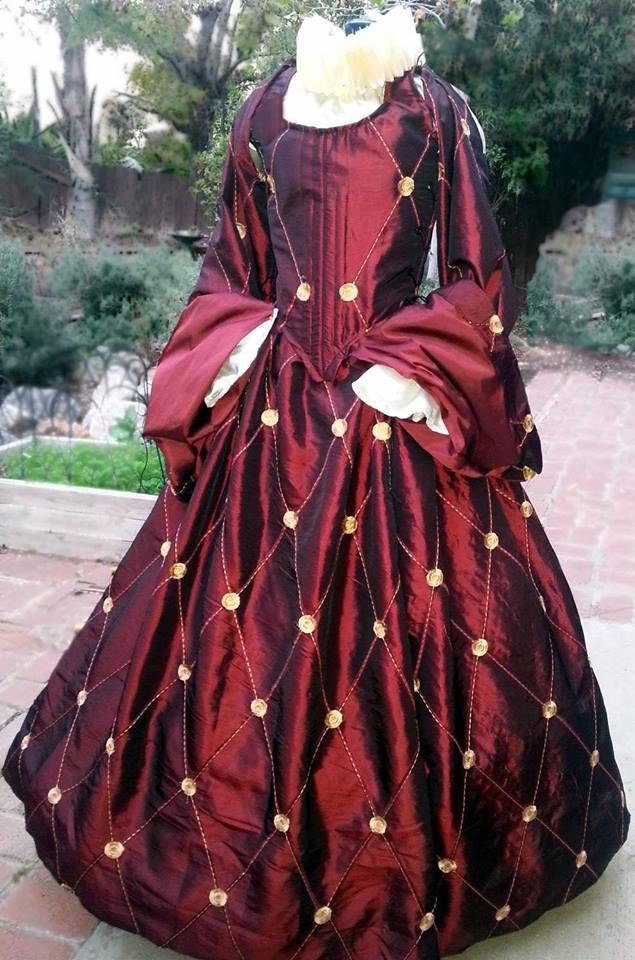 ルネッサンス ドレス ルクレチア