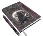 月の魔法猫ノート&ペン☆Witches Spell Book A5 Journal with Pen P6