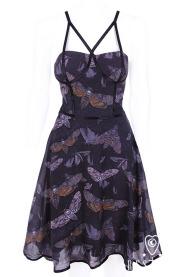 RESTYLE☆MOTH DRESS スチームパンクゴシック コルセットドレス Sサイズ
