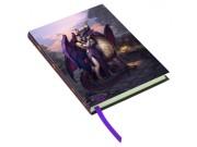 ドラゴンサンクチュアリー ノート ☆Embossed Journal Dragon Sanctuary  17cm