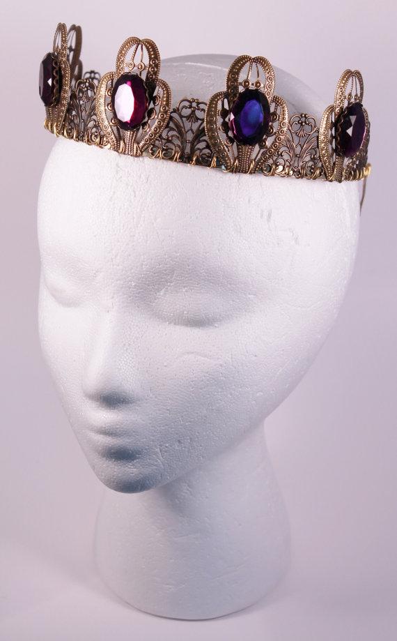 ゴシック 王冠 ルネッサンスティアラ ベラドンナ