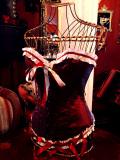 コルセット・ゴシック&ビクトリアン サテンコルセット lace up back CorsetBeautyDiaries