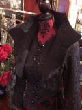 エリザベスカラーヴァンパイアクイーンジャケット☆中世ダークな雰囲気ダークゴージャスなジャケット