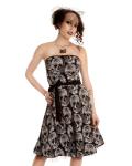 フォルタークロージング☆ワンピース☆Witchcraft Strapless Dress☆S size