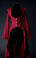 スチームパンクEGAcoat☆中世漂う赤いコート・ゴシックビクトリアン・Sサイズ