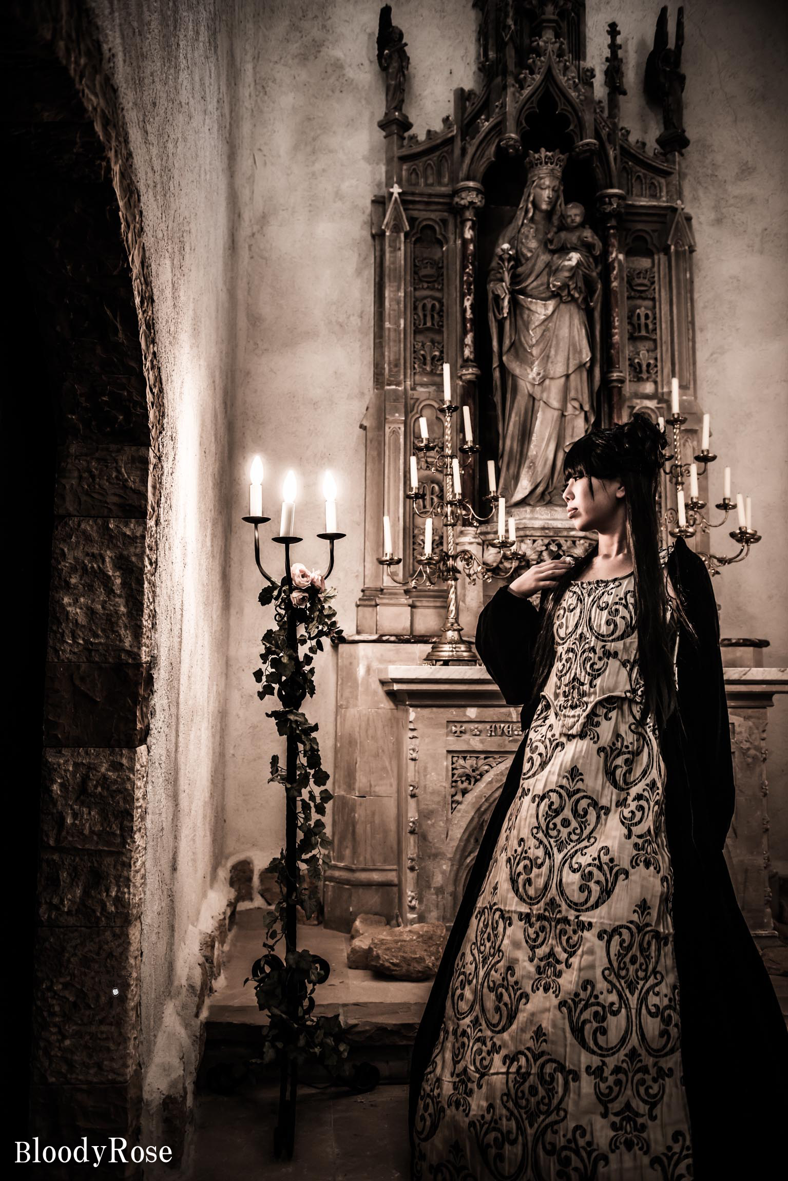 ゴシックドレス 中世貴族ドレス Regal Renaissance Dress