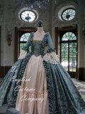 ゴシックウェディング・マリーアントワネットDay Court gown