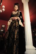 レンタルドレス2泊3日◆ゴシックドレス マリーアントワネットふう・中世貴族ドレス☆ルネッサンス