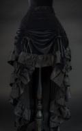 Black Velvet Layer Bustle Skirt☆ゴシックビクトリアンバッスルスカート・ Sサイズ