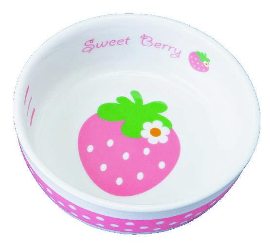 食器 イチゴ ピンク