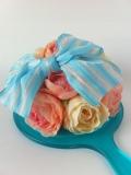【マリーなミラー】クラシックブルー【お花ミラー】
