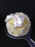 【純白・無垢】プレシャスホワイト【お花ミラー】