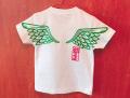 翼手描きTシャツ