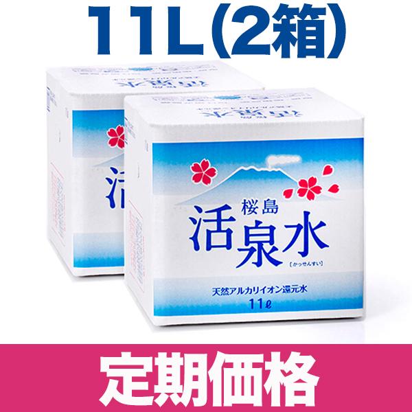 11リットル箱型2箱セット 【定期コース】(送料別)
