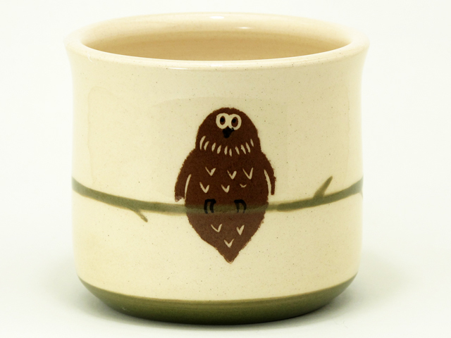 シマフクロウ スープカップ