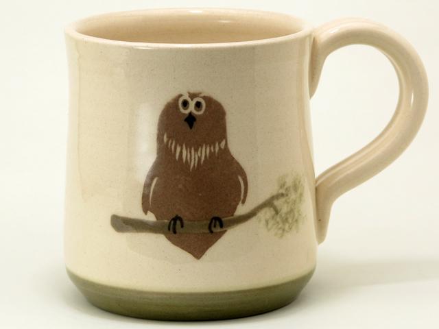 シマフクロウ マグカップ