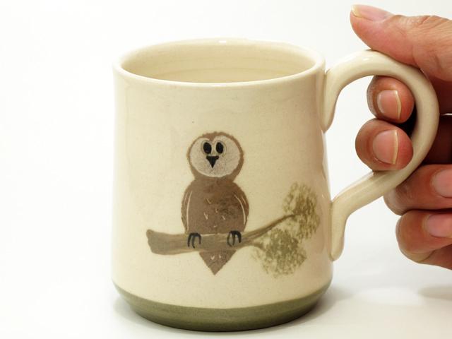 メンフクロウ マグカップ