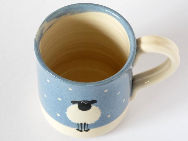 雪のひつじ マグカップ