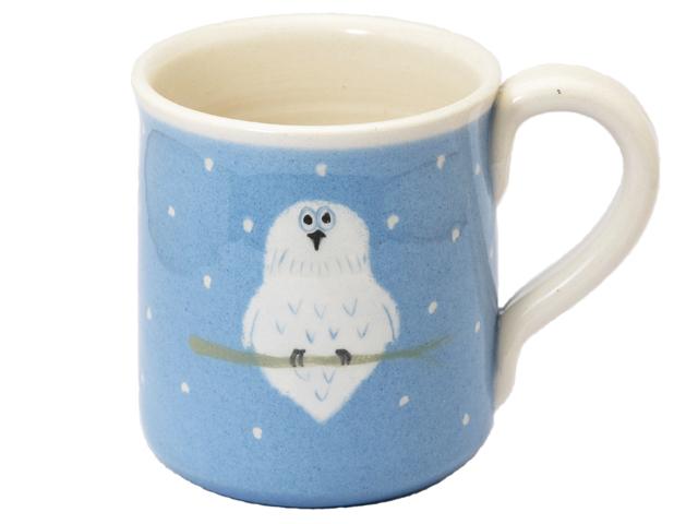白フクロウ マグカップ