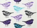 青い鳥 ティータオル