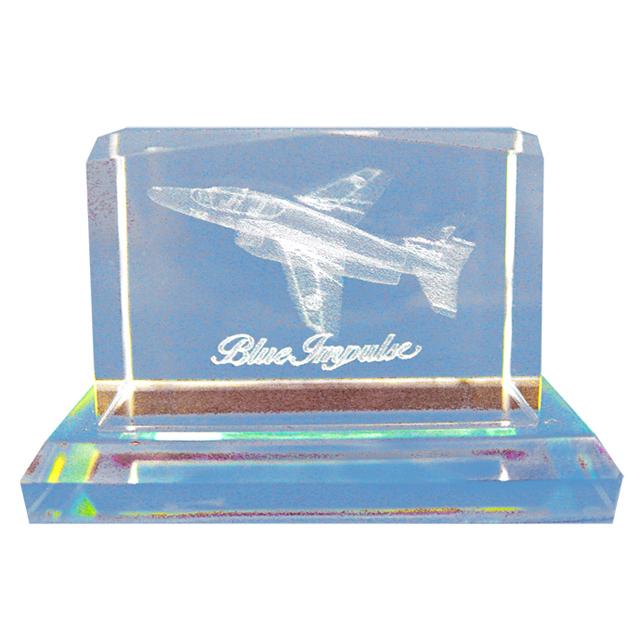 ブルーインパルス T-4 3Dクリスタル
