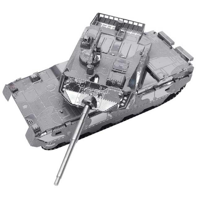自衛隊 メタリックナノパズル 10式戦車(陸上自衛隊)