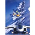 航空自衛隊 3Dクリアファイル (ブルーインパルス02)