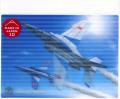 ブルーインパルス 3Dポストカード(タッククロス)