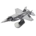 メタリックナノパズル F-35