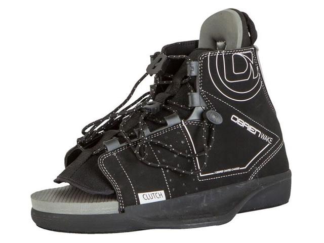 ウェイクボードビンディング・OBRIEN・CLUTCHブーツ/ブラック(26~29cm)/39735