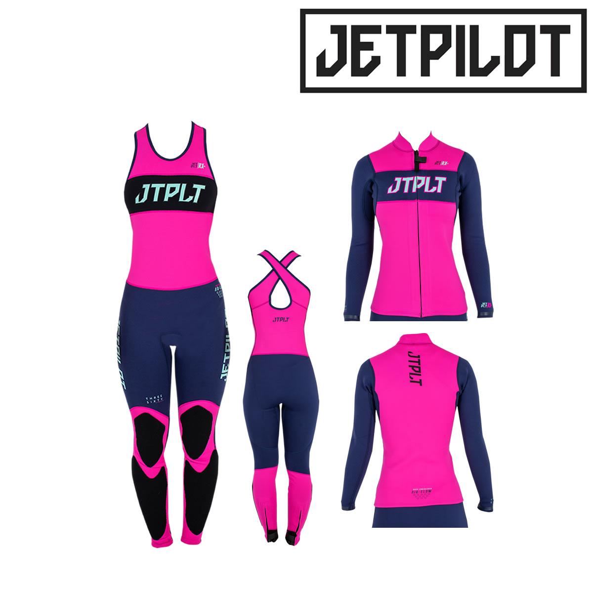 JETPILOT(ジェットパイロット) レディースウエットスーツ 2ピース (JA21251)