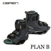 ウェイクボードビンディング OBRIEN・PLAN Bブーツ(40796~)