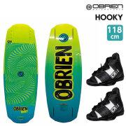 ウェイクボードセット・OBRIEN・HOOKY118+CLUTCHブーツ(20-23cm)/42364-39120