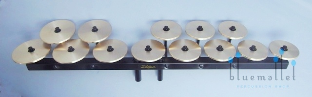 Zildjian Crotales High Octave Set 【お取り寄せ商品】