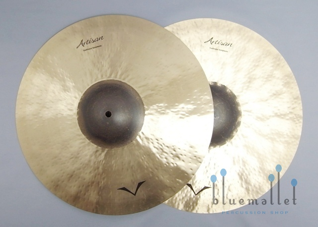 "Sabian Cymbal Artisan Medium Heavy 17"" VL-17ASMH (Pair Cymbal) 【お取り寄せ商品】"