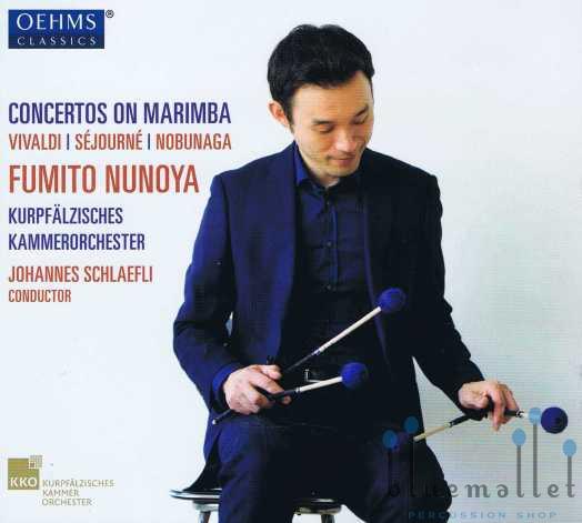 Nunoya , Fumito - Concertos on Marimba (CD)